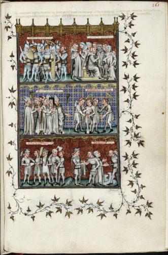 Abb. 2: Nicole Oresme, Le Livre de Politiques, 1376