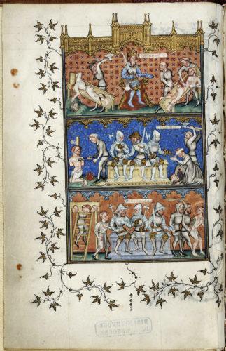 Abb. 3: Nicole Oresme, Le Livre de Politiques, 1376