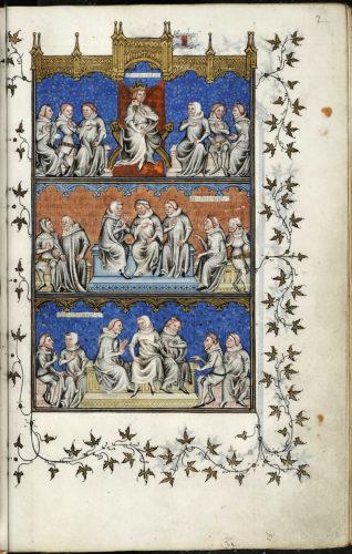 Abb. 4: Nicole Oresme, Le Livre de Politiques, 1376