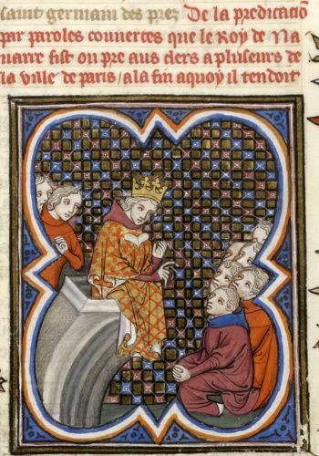 Abb. 5: Grandes Chroniques de France, zw. 1375 u. 1380