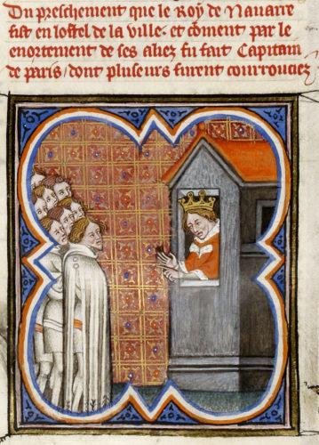 Abb. 6: Grandes Chroniques de France, zw. 1375 u. 1380