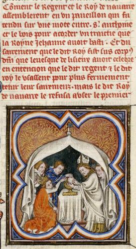 Abb. 7: Grandes Chroniques de France, zw. 1375 u. 1380
